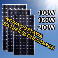 baterie słoneczne monokrystaliczne