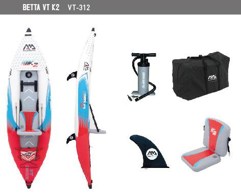 Kayak Betta with accesories