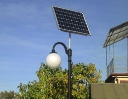 Lampa solarna LED - Hajnówka