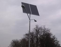 Lampa solarna LED - Jazowa k. Nowy Dwór Gdański