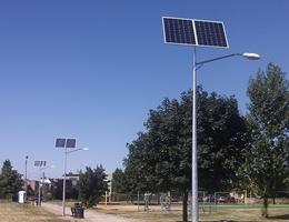 Lampy uliczne - Poznań os. Buczka