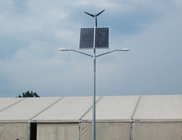 Podwójna lampa hybrydowa LED - Proszówki