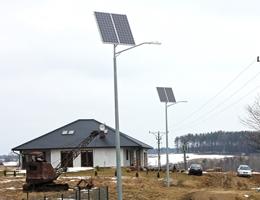 Lampa solarna LED - Bukowina
