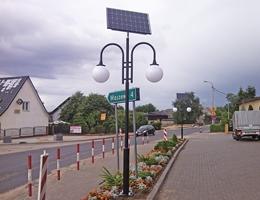 Lampa solarna LED - Cewice