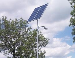 Lampa solarna LED - Pakość
