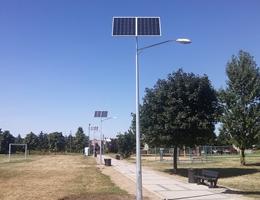Lampy solarne  - Poznań