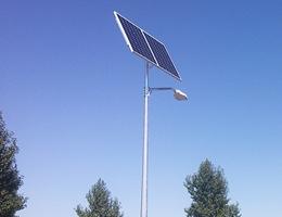 Lampy solarne  - Poznań os. Buczka